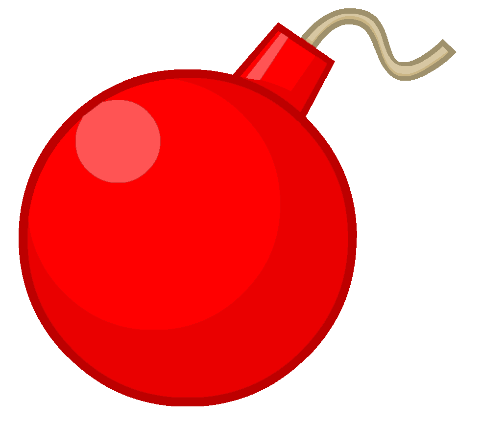 image royalty free transparent bomb red #105282572