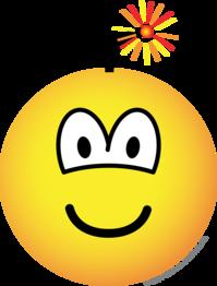 graphic royalty free stock Bomb emoticon