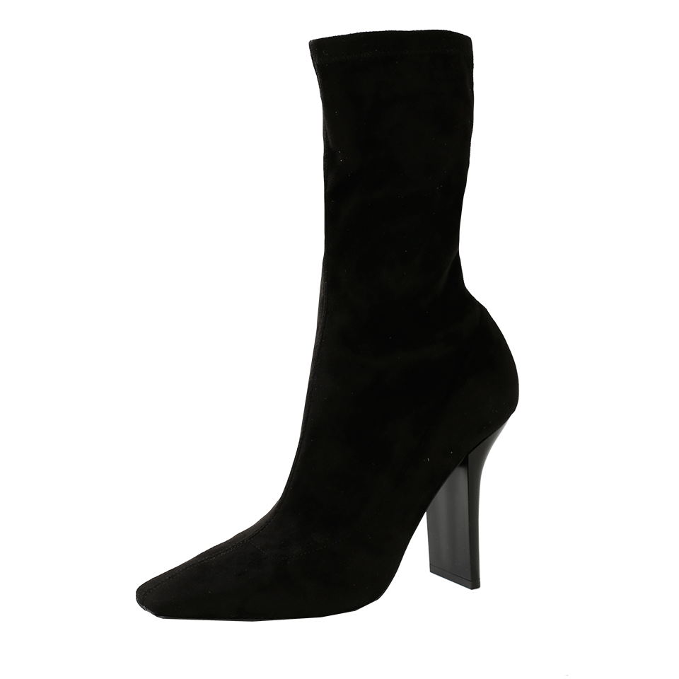 clipart library Stretch Square Toe Heel Booties