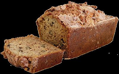 freeuse stock Banana Nut Bread