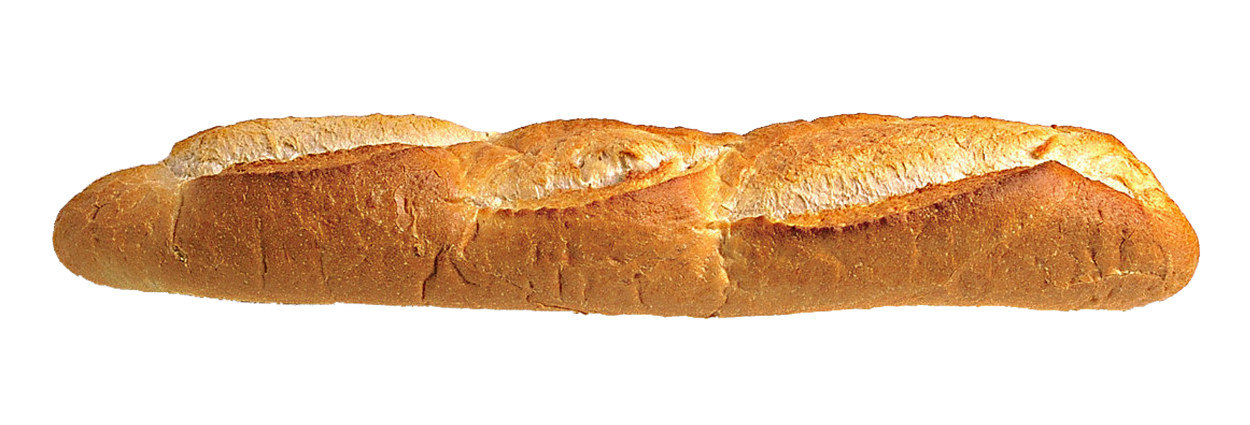 royalty free stock Transparent bread loave. Long loaf png image