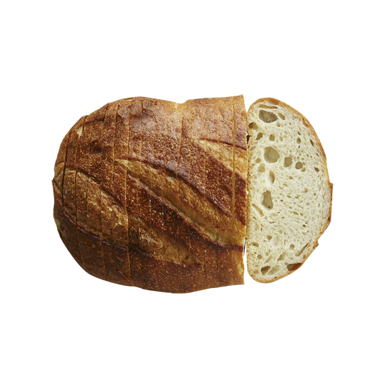 vector freeuse library San francisco sourdough alone. Transparent bread long