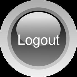 picture Vector buttons home. Logout button clip art