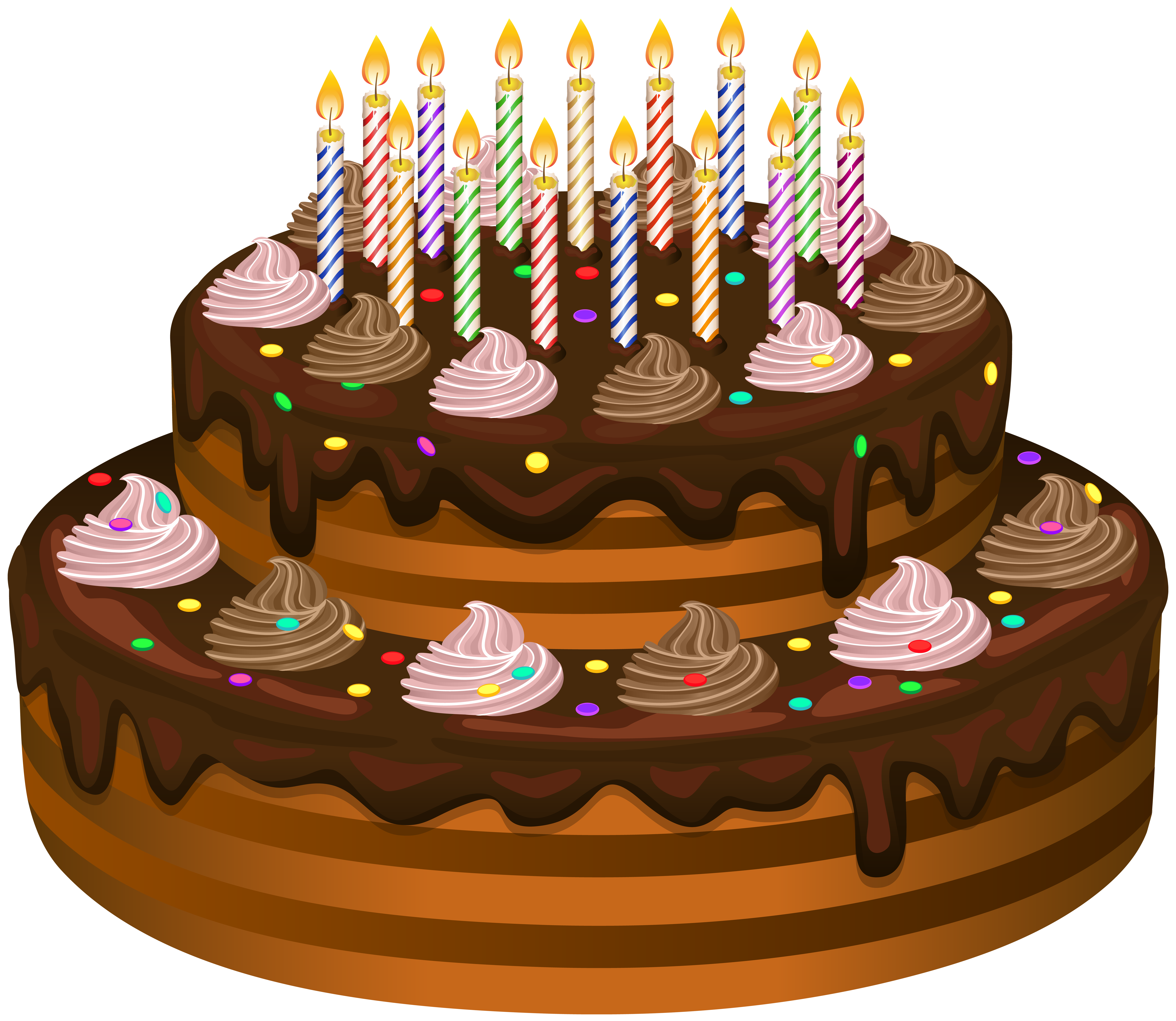 banner royalty free library Cake clip art gallery. Chocolate transparent birthday