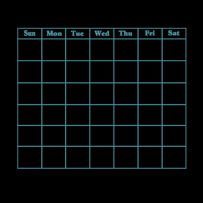 vector transparent library Blank Calendar Svg Blank Calendar Svg