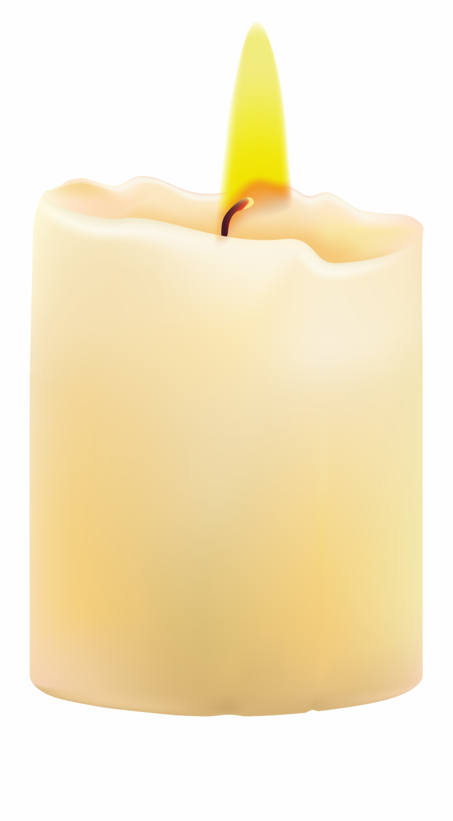 picture freeuse library Wax clipart clip art. Transparent candle