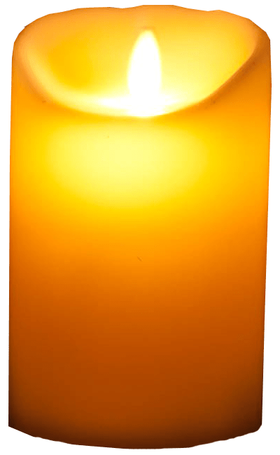 banner freeuse Glowing candle transparent image