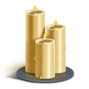vector black and white stock Transparent candle church. Candles png images pluspng