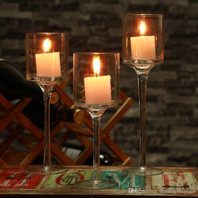 svg royalty free Transparent candle decorative. Candel glass cylinder holder
