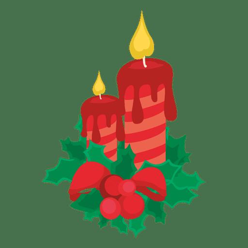 image Christmas lights png svg. Transparent candle decorative