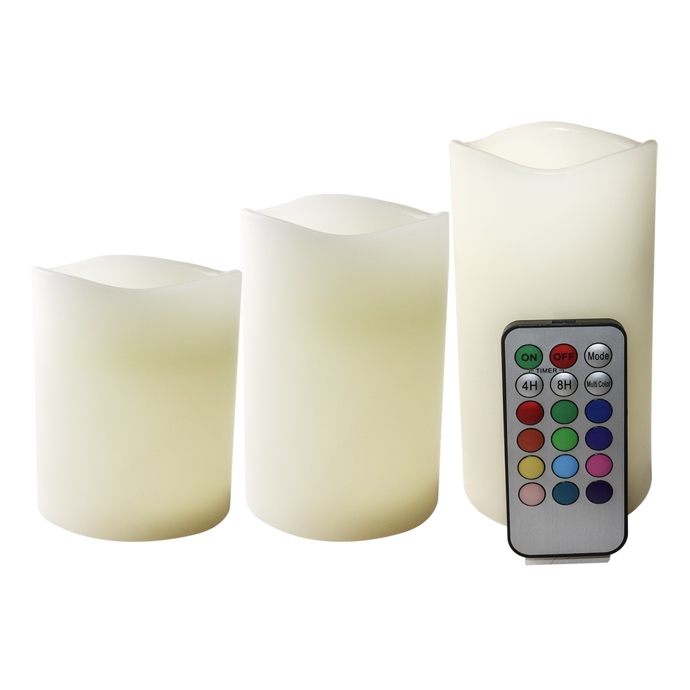 graphic freeuse download Transparent candle electric. Real wax color changing