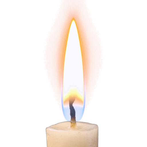 clip art library transparent candle flame #116619510