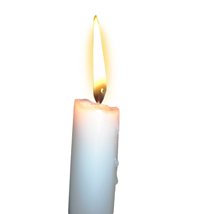 banner black and white library  png for free. Transparent candle flame