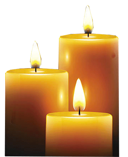 png black and white stock Candles png . Transparent candle funeral