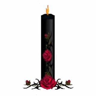 library Transparent candle gothic. Png images vippng