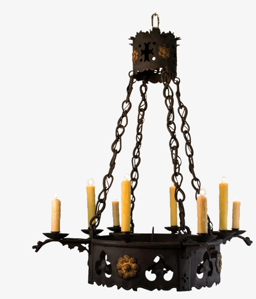 vector royalty free stock Transparent candle gothic. Candles png candelabra chandelier