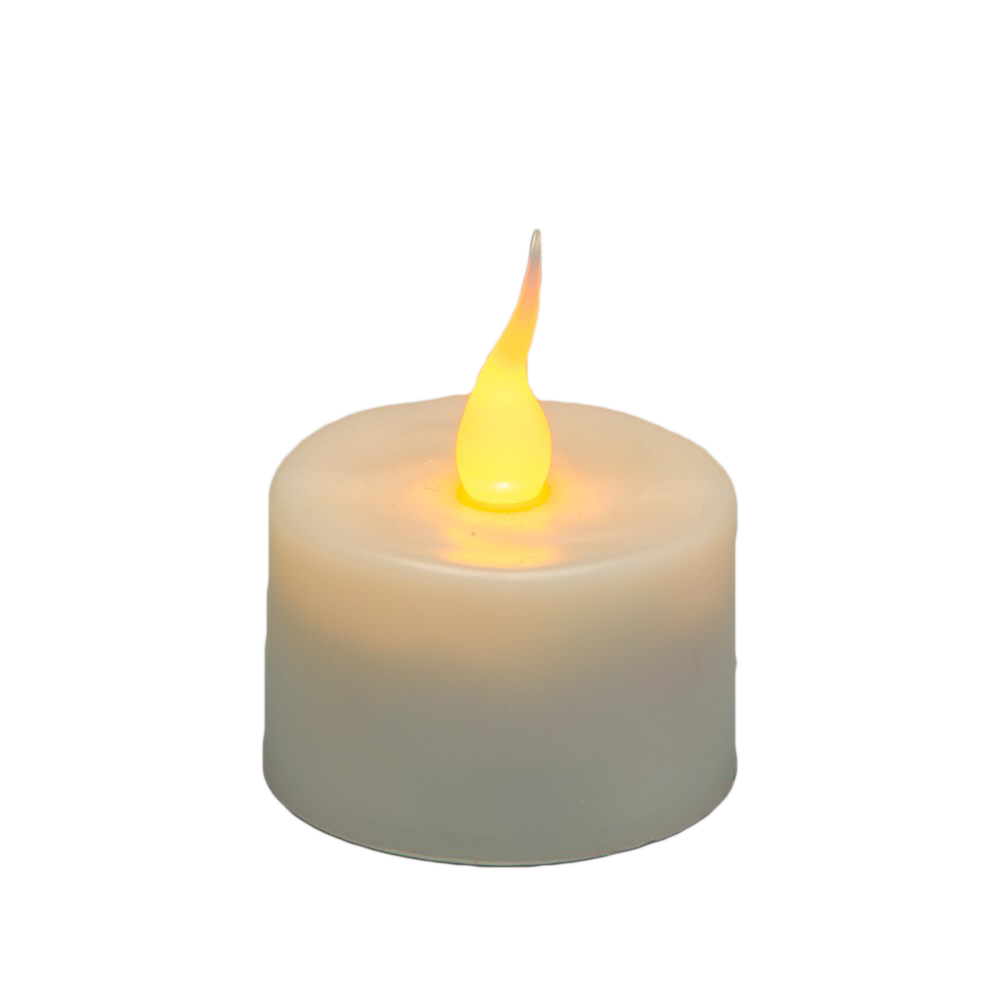 royalty free Transparent candle lit.  tea light candles