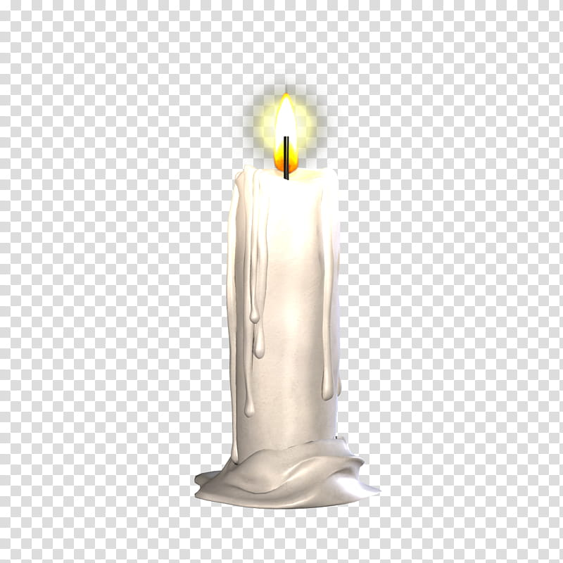 banner black and white White illustration . Transparent candle lit