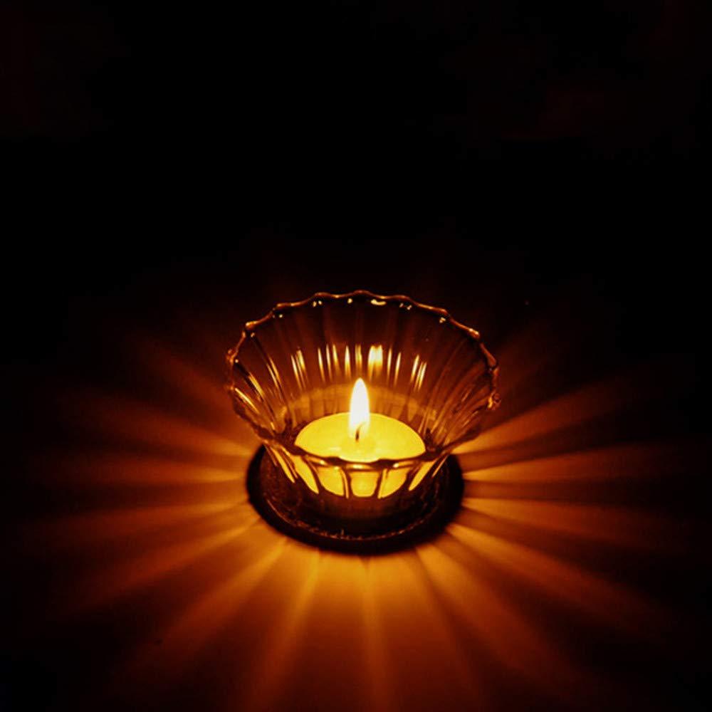 image Transparent candle lit. Amazon com ushot glass