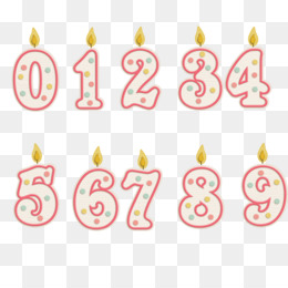 image black and white Transparent candle number. Png black icon
