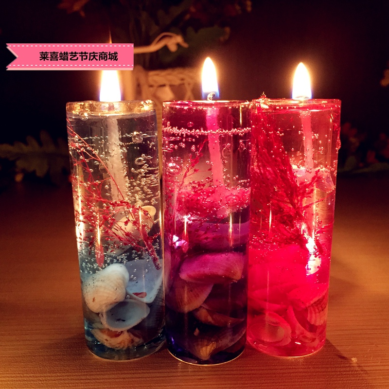 picture download Romantic gift pieces aroma. Transparent candle ocean