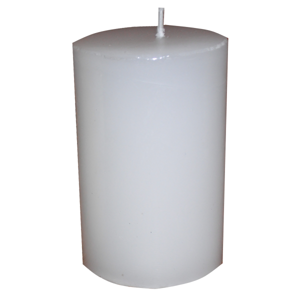 image royalty free stock Transparent candle pillar. Classic cm x the
