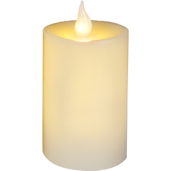 clipart free stock Transparent candle pillar. Led flame star trading