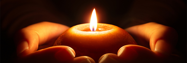 vector library download The role of candles. Transparent candle rest in peace