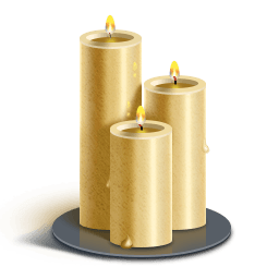 clipart freeuse library Transparent candle rest in peace. Robert a ortiz