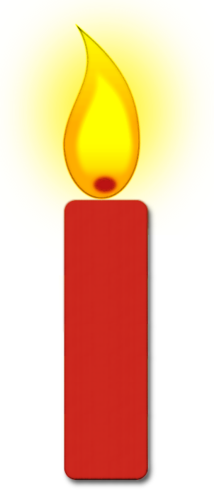 graphic library Transparent candle single. Clipart free for