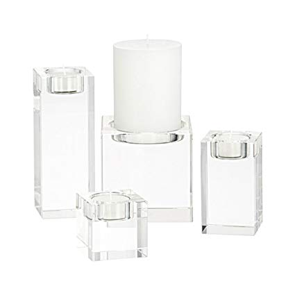 graphic black and white Transparent candle table. Amazon com kmyx soft