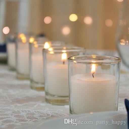 jpg transparent download Transparent candle wedding. Candles decoration event venue