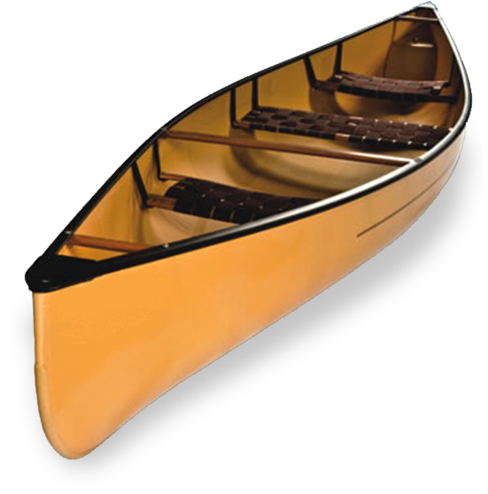 svg black and white stock Canoe Boat PNG Image