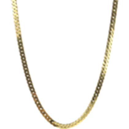 vector black and white stock Gold background neck l. Transparent chain