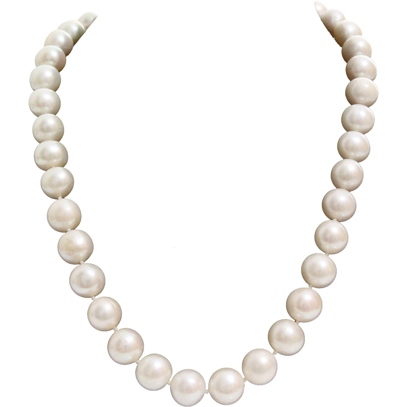 picture transparent Pearl Collar Necklace