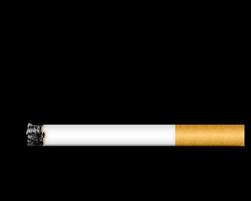 clip transparent cigarette two #116669576