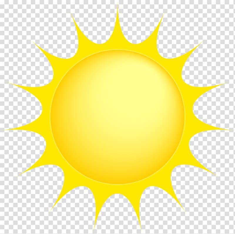 svg library download Transparent clipart. Yellow sun illustration background