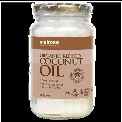 jpg transparent stock Melrose Organic Refined Virgin Coconut Oil