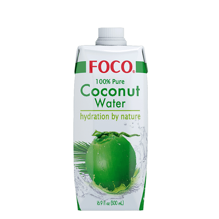 jpg Foco water. Transparent coconut pure.