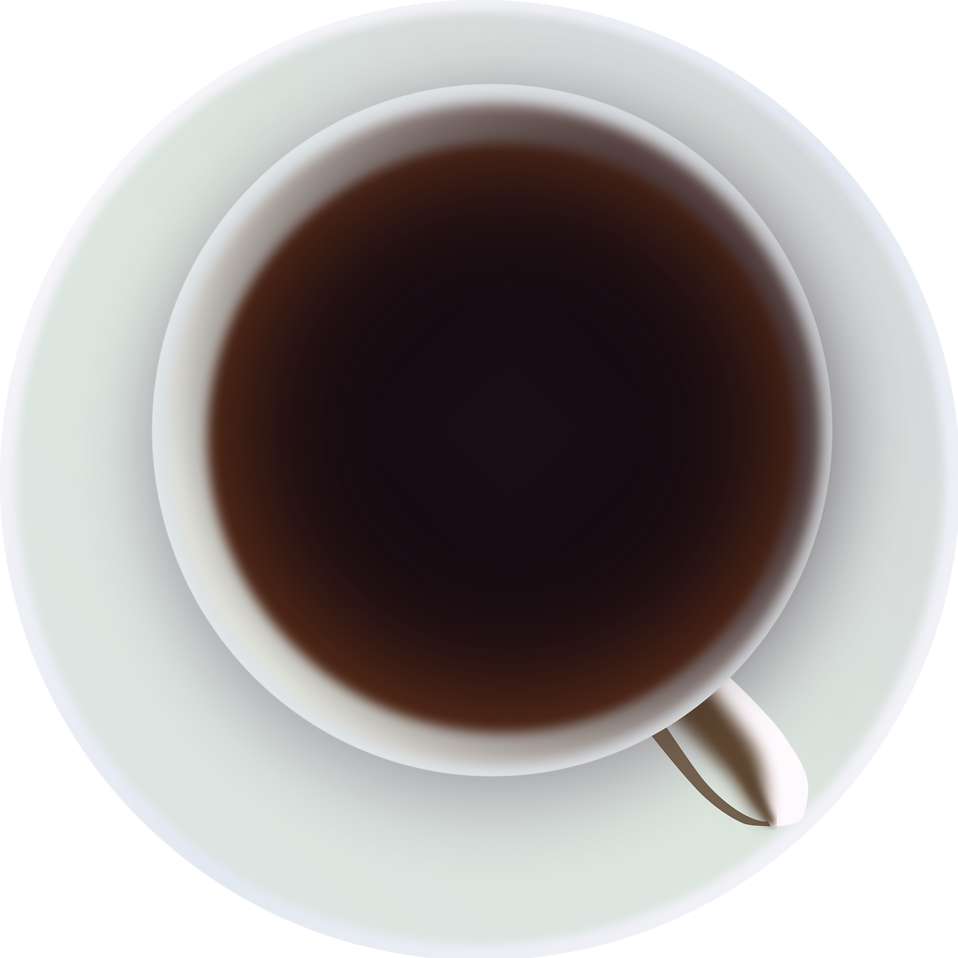jpg download Vector coffee top view. Free stock photo illustration