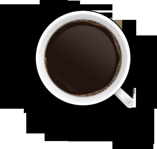 vector free stock Coffee Mug Top PNG Image