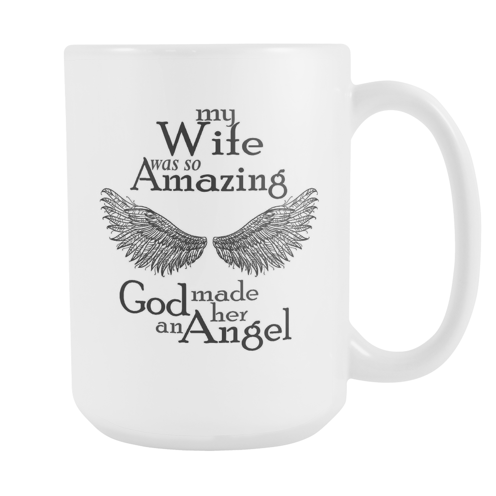 svg freeuse library My Wife Was So Amazing God Made Her An Angel White