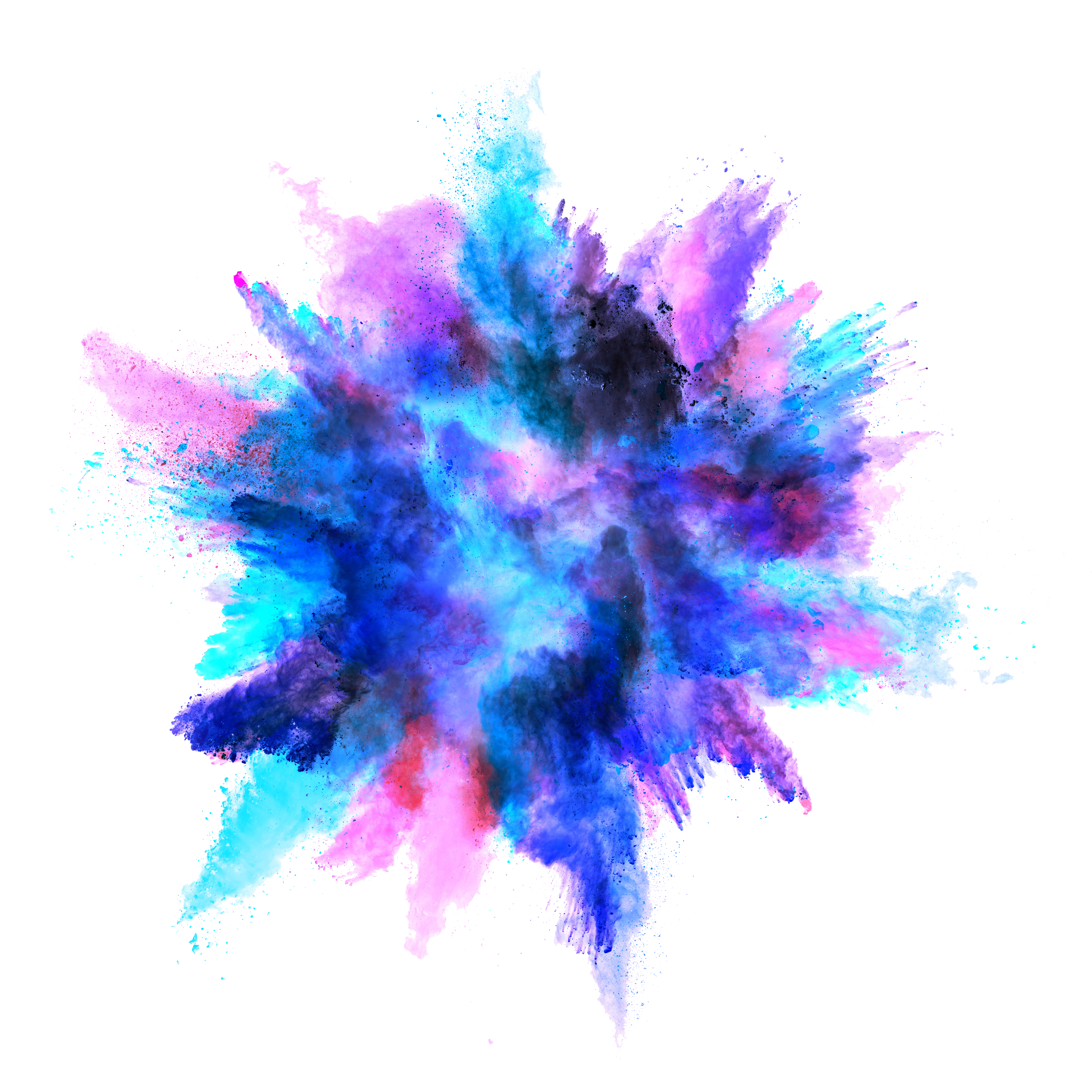 png download Vector color dust.  png for free
