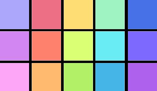 clip art library Pastel Colors