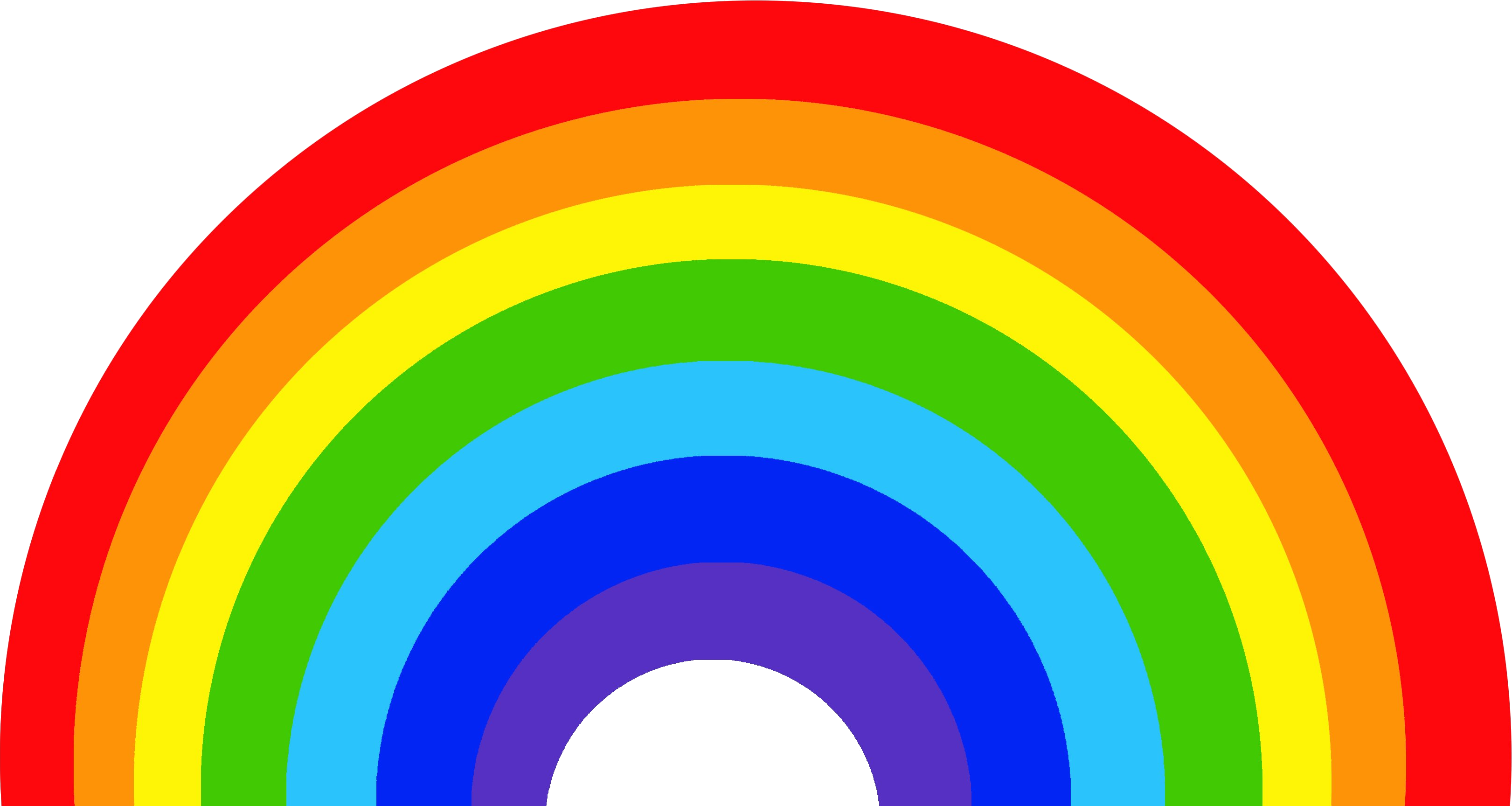 clipart download Download rainbow free png. Drawing rainbows realistic
