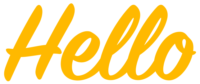 vector library download Transparent com hello. File yellow png wikimedia