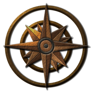 graphic royalty free download transparent compass fantasy #116691259
