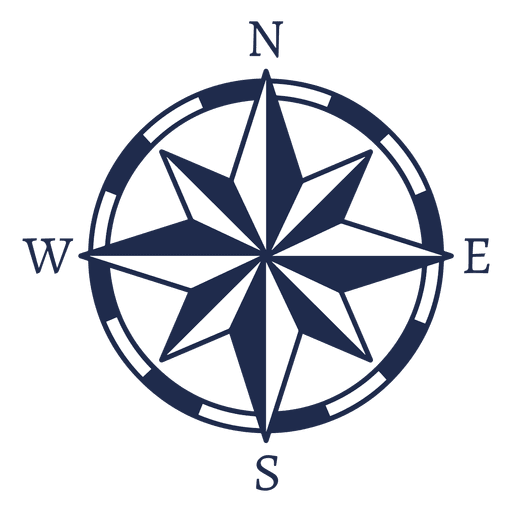 banner black and white library  png for free. Transparent compass nautical