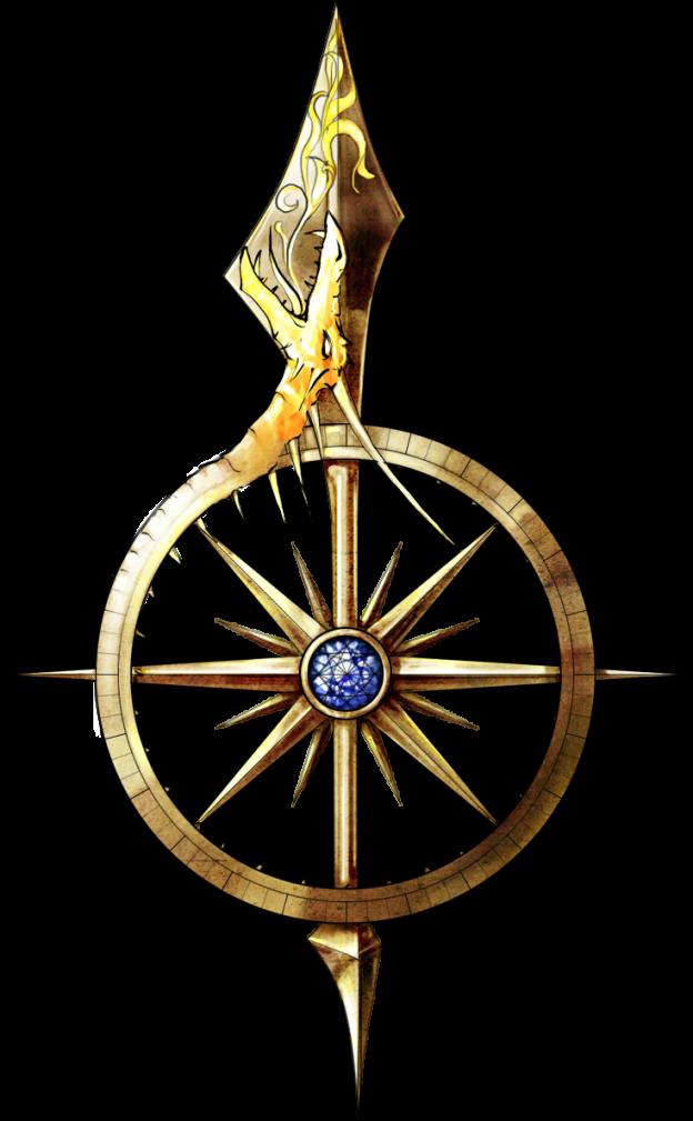 clip stock Compass Design for the Midgard iPad App