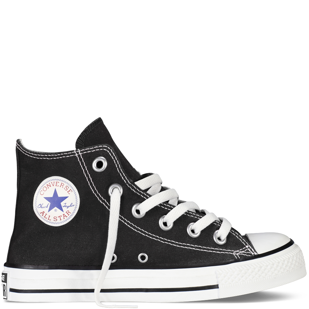 clip free download Kids Converse Black High Top